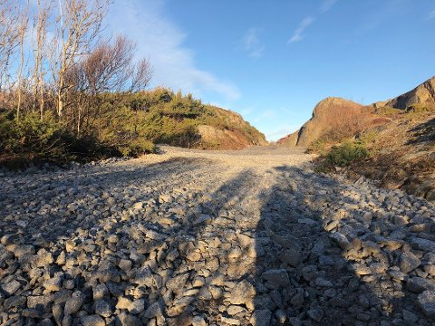 OMSTRIDT VEI: – Anleggsveien er nå fjernet, skriver advokat Steinar Sørlie i et brev til Larvik kommune.