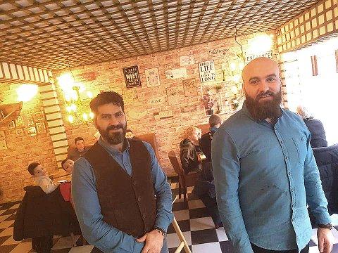 NYE LOKALER: Lokalene har også fått en overhaling. Nå ser Sarmad Al Qaisi og Mo Somson fram til å drive en ny restaurant, midt i byen.