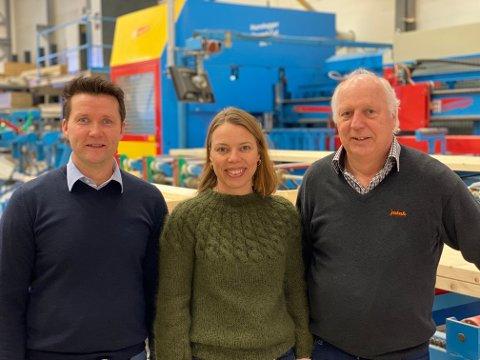 FAMILIEBEDRIFT: Svein-Tore Bergene og Solbjørg Bergene Farstad deler på daglig lederrollen i bedriften Øyvind Farstad startet opp for 22 år siden.