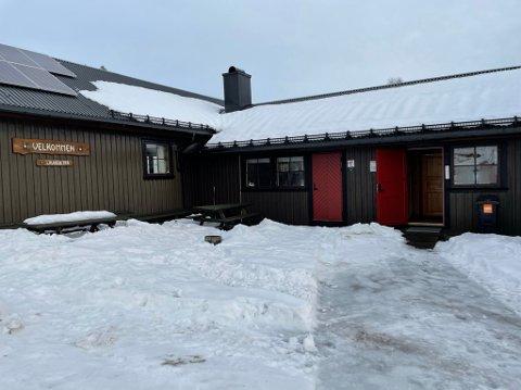 ÅPNER: Søndag 28. februar åpner Lauvesetra for første gang i vinter, med koronarestriksjoner. (Bildet er tatt 23. februar.)
