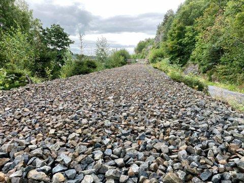 FRA TOGSPOR TIL TURVEI?: Med et nye tilbudet som Bane Nor har lagt på bordet kan man muligens være et steg nærmere turvei på den nedlagte jernbanetraseen mellom Porsgrunn og Larvik.
