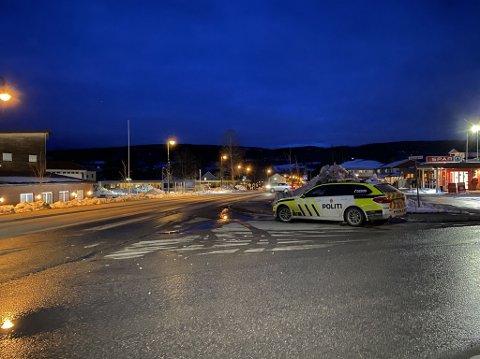KOLLISJON: Ulykken skal ha skjedd i et kryss i Svarstad sentrum.