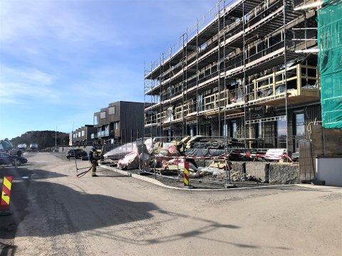 FEIL ADRESSE: Det var her i Iver Hesselbergs vei det ble oppdaget branntilløp tirsdag, og ikke i Iver Jernskjeggsvei på Nanset.