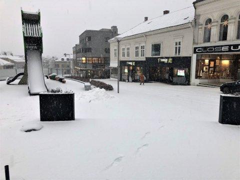 MER SNØ: Kommende uke vil vi på nytt få snø i Larvik ifølge meteorologen.  Arkivfoto: Bjørn-Tore Sandbrekkene