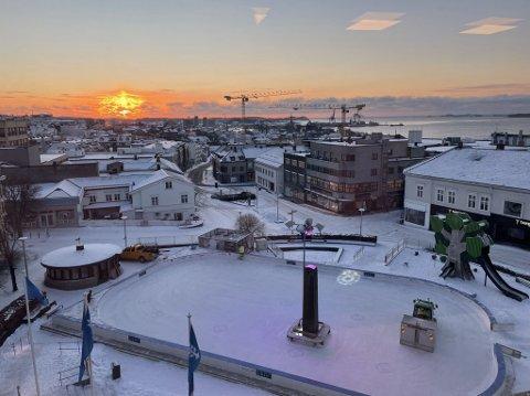 DYRT: Vinteren 2020/2021 kan ha vært den siste for skøytebanen til Torget.