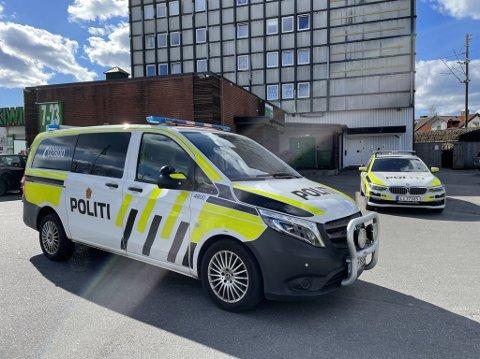DEJA VU: Politiet rykket ut til en adresse på Torstrand torsdag ettermiddag. Fredag kveld rykket de ut til samme sted, der samme mann var involvert i mer håndgemeng.