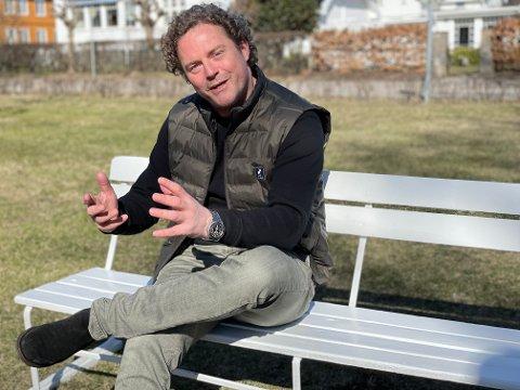 I DYTTEN: Bjørn Erik Brandsæter Helgeland er nok en gang i farta med et nytt selskap. Nå er det Reen AS som er i ferd med å ta av.