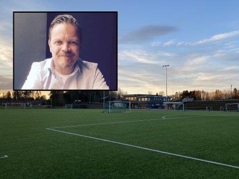 FORNØYD: Leder i Tjølling IF, Jørn Østby, takker politikerne for at de nå får pengene de har ventet lenge på.