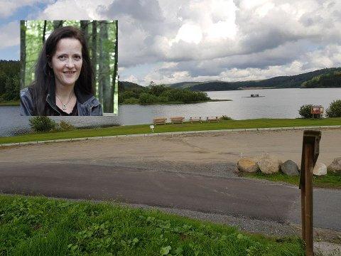 SAGT OPP: - Kan jeg bare bli sagt opp, uten advarsel, spør Mette Wiborg etter at hun og familien ikke fikk fortsette å leie på campingplassen.