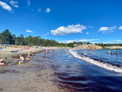 VARME I VENTE: Det meste ligger til rette for noen flotte dager på stranda neste uke.