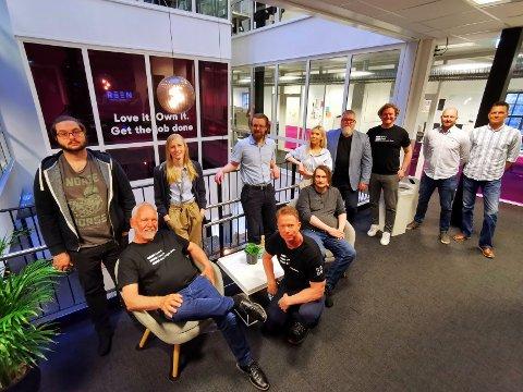 BLIR STØRRE: Med oppkjøpet av det finske selskapet vil flere administrative oppgaver nå flyttes til hovedkontoret i Larvik.