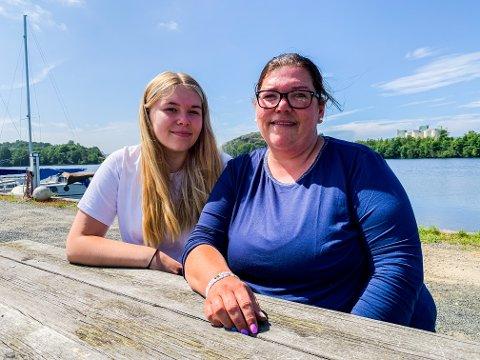 GODT FORHOLD: Ida (17) og Monica (41) har fått enda bedre forhold fordi korona har gitt dem mer tid sammen.