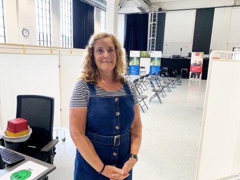 KLAR: Anne Grethe Sneeggen i Larvik kommune sier de er klare for alle ekstra doser som kommer.