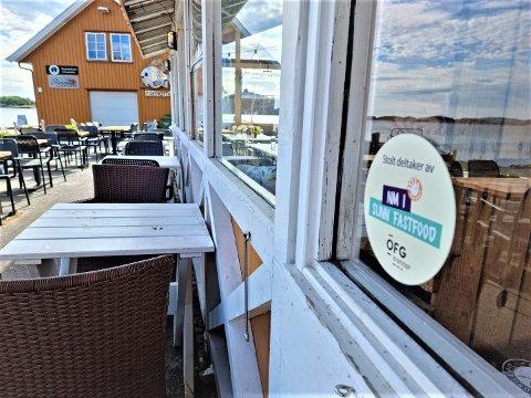 NM: Dampskipsbrygga er en av restaurantene som er med i NM i Sunn Fastfood.