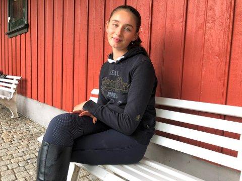 NM: Dinah kunne nylig dra hjem med gullmedalje i Junior NM.