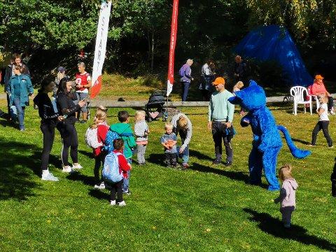 KOM DEG UT: 18. september arrangerer turistforeninga igjen Kom deg ut-dagen. Her fra fjorårets arrangement på Skautvedt.