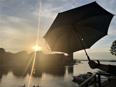 REGN: Snart må du kanskje finne fram paraplyen.