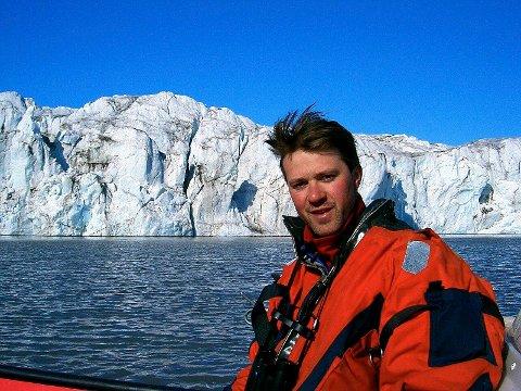 Sveinung Lystrup Thesen er mistet en kamerat i snøskredet på Svalbard lørdag. (Foto: Privat)