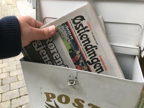 Utdelingen av lørdagsaviser går bedre enn i starten for Kvikkas, men mediehusene er ikke fornøyde ennå. (Illustrasjonsfoto: Kjetil Brorson Dahl)