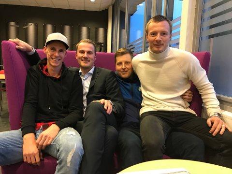 UKENS FIRKLØVER: Vi har besøk av Peder Rustad og Simen Arnesen i denne ukens podkast.