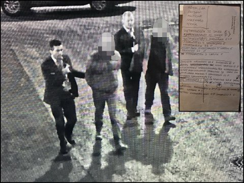 TATT: De to rumenerne ble avslørt av Nokas-vektere ved Triaden. De innrømmer å ha stjålet varer for over 200.000 kroner. Foto: Nokas, Triaden / Vidar Sandnes
