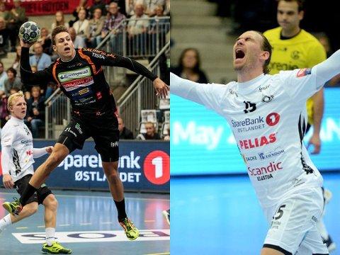 VENSTREKANT: William Nilsen-Nygaard (t.v.) og André Lindboe. Foto: Wille/Østlendingen