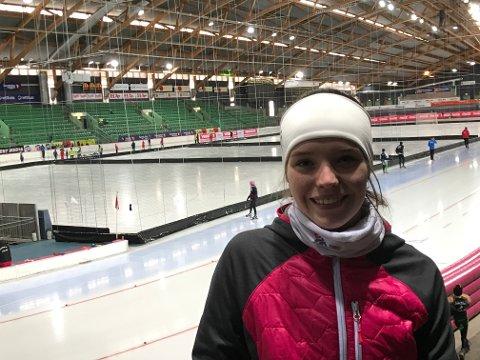 Synne Moen Bredalslien er en av de beste junior skøyteløperne i landet. Hun satser videre.