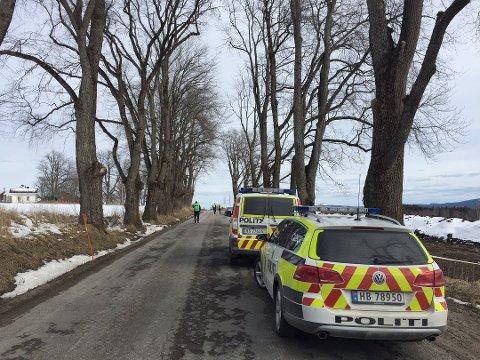 UTFORKJØRING: Det var Adrian August Grønstad Lien som mistet livet i Hernes onsdag ettermiddag. (Foto: Cathrine Loraas Møystad)