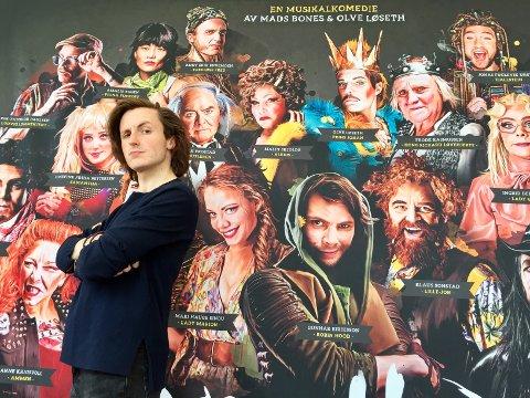 RAI RAI: Knut Erik engemoen har vært spilt i snart 80 fullsatte forestillinger på Trøndelag Teater. Nå er han nominert til to Heddapriser.