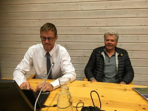 PÅ PLASS: Henry Aaseth er klar for rettssaken som starter i Sør-Østerdal tingrett fredag morgen.