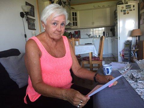 Anne Sofie Lorentzen er en av mange over hele landet som har fått brevet hvor det trues med søksmål hvis man ikke betaler.