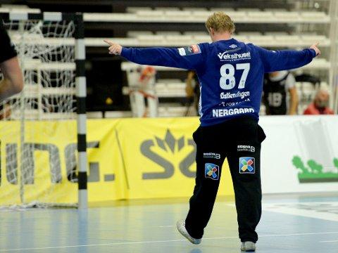 Morten Nergaard og Elverums håndballherrer får forhåpentligvis mer å juble for i cupen.