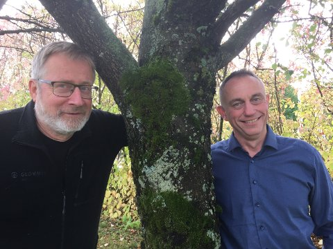 VIL BLI STØRRE: Styreleder Ole Theodor Holth (t.v) og administrerende direktør Gudmund Nordtun i Glommen vil fusjonere med Mjøsen Skog.