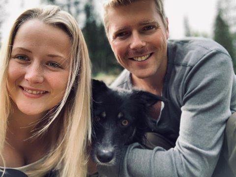 ET PAR: Miriam Sandvik og Espen André Rødnes, deltok begge som friere i Jakten på Kjærligheten, men endte opp med hverandre i stedet.