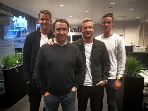 TYNSET-GJEST: Ole Erik Midtskogen gjester guttene i podkasten.