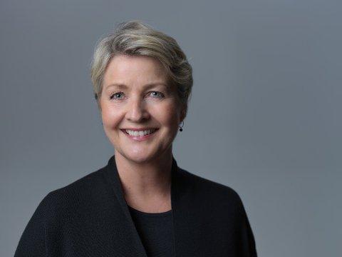 GAVESJEF: Kristin Vitsø Bjørnstad, Sparebankstiftelsen. Foto: Sparebankstiftelsen