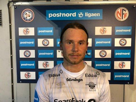 NYSIGNERING: Mads Eskedal Lyngen er klar for Elverum Fotball.