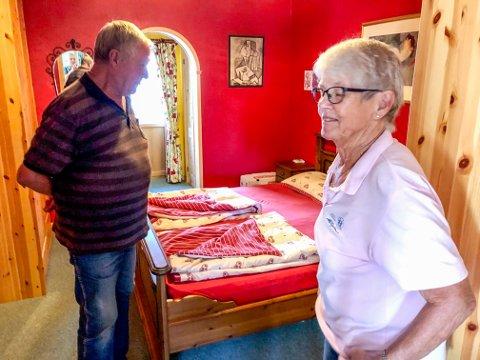 UTRIVELIG: Mette og Svein Erik Karseth opplevde alles store skrekk. Mens de sov romsterte en innbruddstyv inne på soverommet.