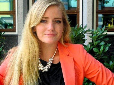KLAR: Senterpartiets Emilie Enger Mehl er klar for ulvedebatt.