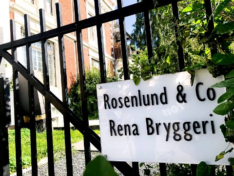 PÅ SKILLEBEKK: Finansieringsselskapet som eier tidligere Rena Bryggeri holder til her på Skillebekk i Oslo. (Foto: Bjørn-Frode Løvlund)