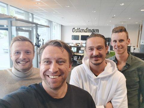 ENS ÆREND: Stein-Erik Stormoen, journalist i Eurosport og Rena-gutt, kom til Østlendingens ens ærend for podkast torsdag.