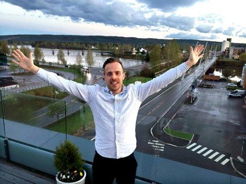 RELASJONER: Kalle Björkman vil bygge relasjoner og Elverum.