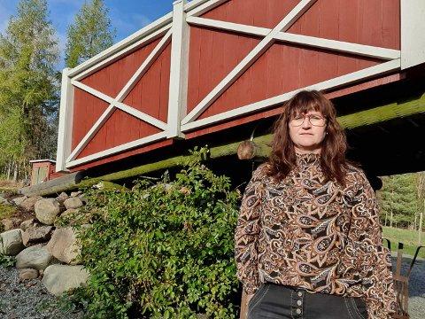 HYTTE: Kristin Stener Eriksfallet har hytte i farens hjembygd, Osen.