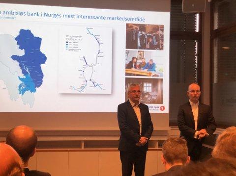 SOLID: Årsresultatet til Sparebank 1 Østlandet ble lagt fram i Oslo, fredag. Resultatet ble 500 millioner mer enn i 2018.