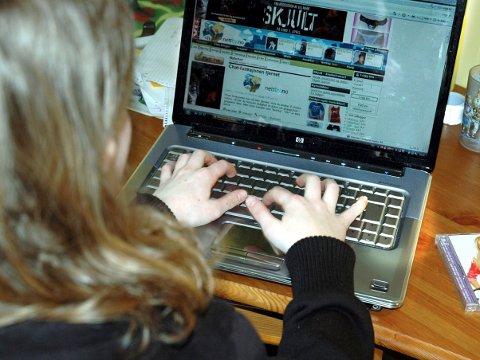 HACKET:  Elverum-elevers kontoinformasjon ble gjort tilgjengelig på internett av hackere (illustrasjonsbilde).