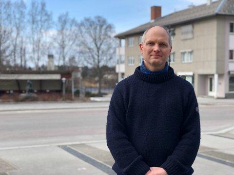 KOMMUNEOVERLEGE: Jon Iver Fougner er kommuneoverlege i Elverum kommune.