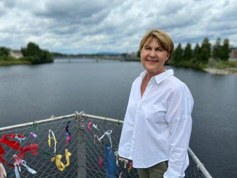 SLØYF! RASISME: Viserektor ved Høgskolen i Innlandet Anna L. Ottosen