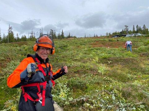 ØNSKER GJENÅPNING: Styreleder i Engerdal Østfjell Hytteforening, Oddbjørn Flataker, mener en reåpning av alpinanlegget i Engerdal Østfjell er mulig dersom alle parter jobber sammen.