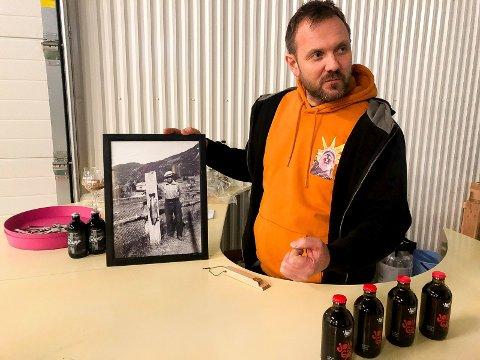 GOD HISTORIEFORTELLER: Rune Midttun er ikke bare bryggerimester på Voss Fellesbryggeri, han er også en god historieforteller.