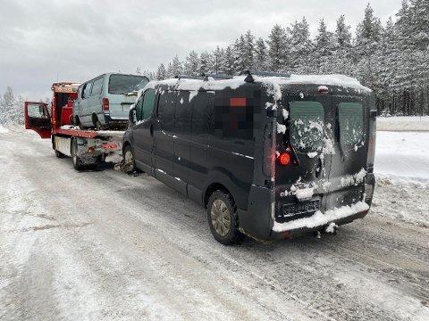 TV-STJERNER: Disse bilvrakene blir TV-stjerner på TV 2 i løpet av våren, bekrefter TV-kanalen overfor Østlendingen.